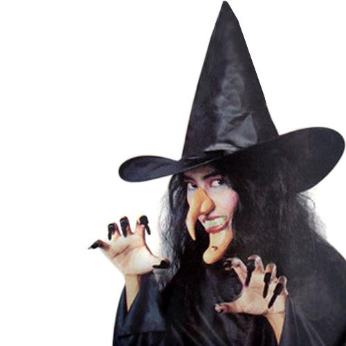 Сделать  маску ведьмы