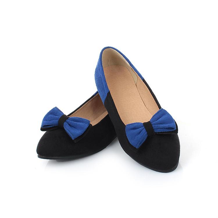 Scarpe Blu Tacco Basso