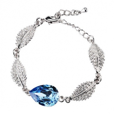 Fashion Blue Metal Bracelet