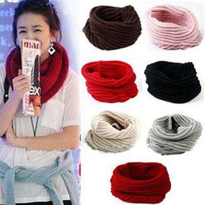 Barato bufanda de lana Moda Café