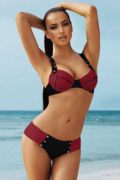 Can consult Cheap red bikini