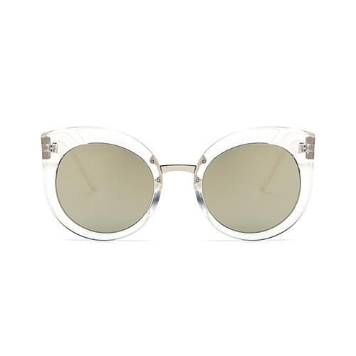stilvolle katze auge rahmen design wei pc sonnenbrille sunglasses accessories lovelywholesale. Black Bedroom Furniture Sets. Home Design Ideas