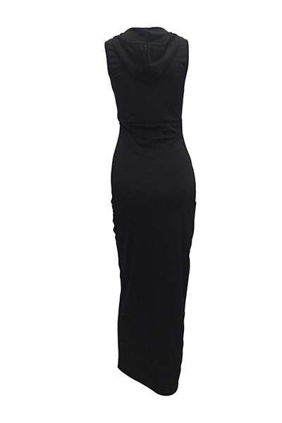 Healthy Fabric Sexy O neck Sleeveless Sheath Ankle Length Dresses