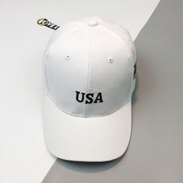 Leisure White Cotton Hat