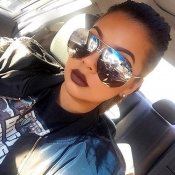 Stylish Silver Metal Sunglasses